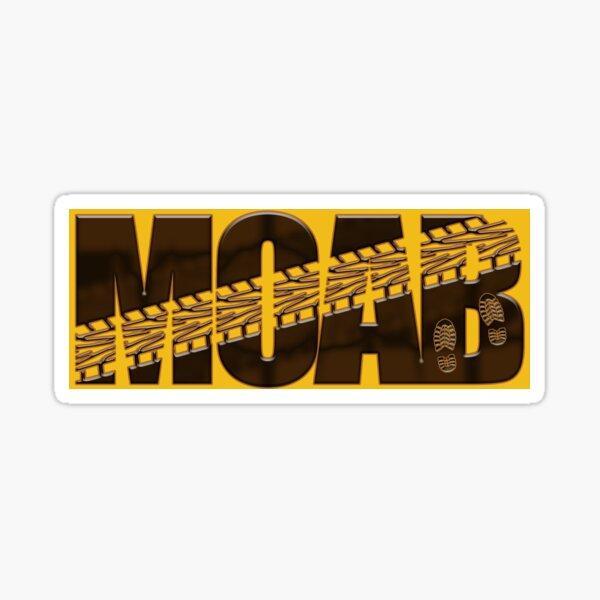 Moab, UT Adventure Sticker