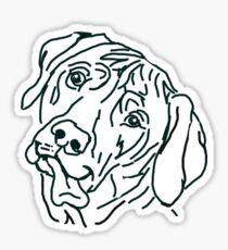 The Rhodesian Love of My Life Sticker