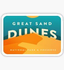 Great Sand Dunes National Park and Preserve Colorado Travel Decal Sticker