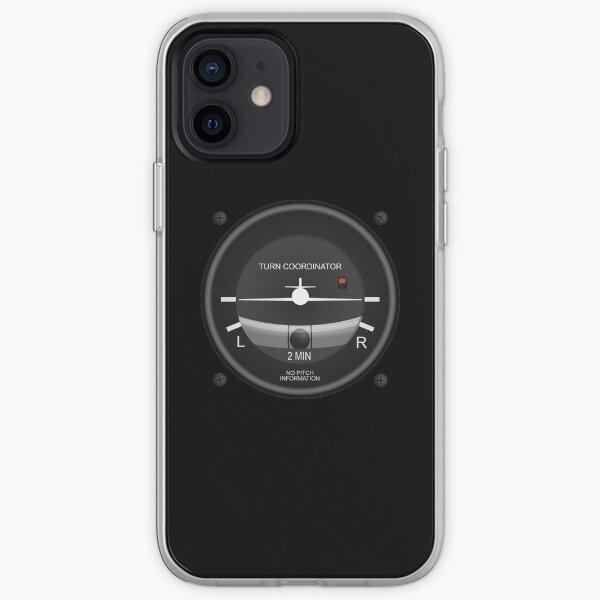 Turn Coordinator Flight Instruments iPhone Soft Case
