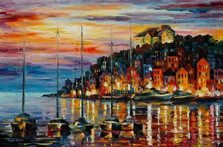 Beautiful Afremov Painting by frankgeorge