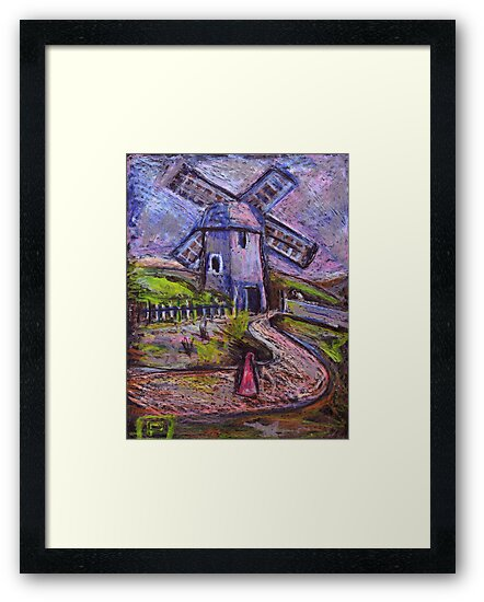 The old windmill by sword