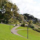 A Walk through Lyme's Town Gardens, Dorset UK by lynn carter