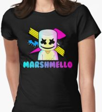Marshmello Women's Fitted T-Shirt