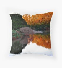 Sunrise on the Manning Throw Pillow