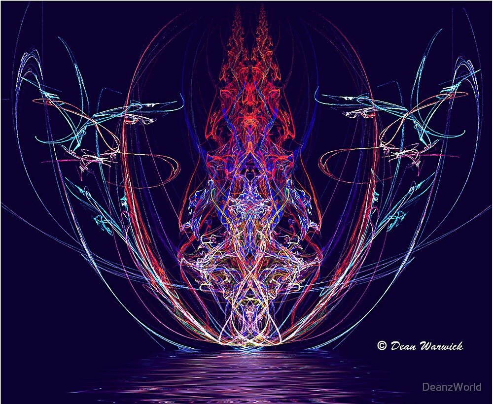Apophysis Reflection 1 by Dean Warwick