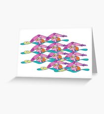 Open Water - Swim Party! Greeting Card