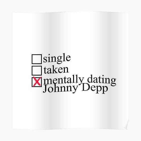 Rencontres mentales Johnny Depp Poster