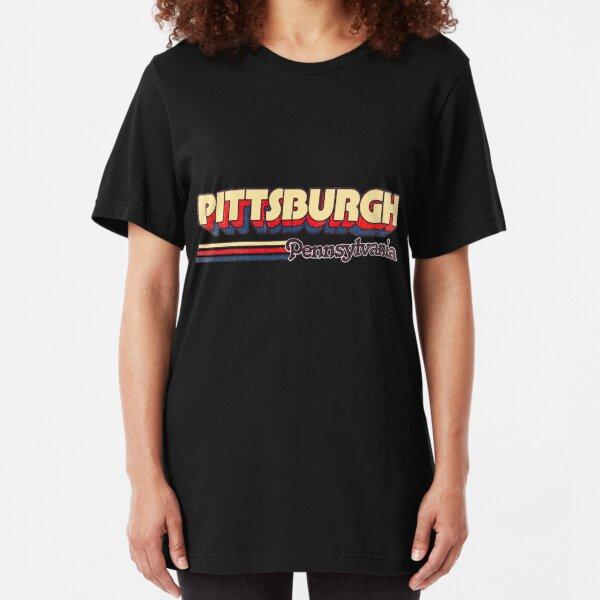Pittsburgh, PA | City Stripes Slim Fit T-Shirt
