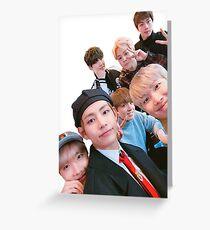 BTS Selca Greeting Card