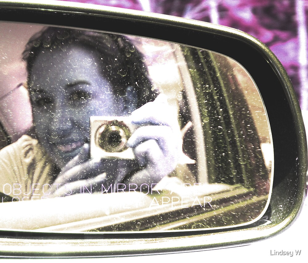Objects Are Closer Than They Appear. by Lindsey W