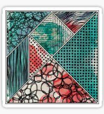 The Many Tile II Sticker
