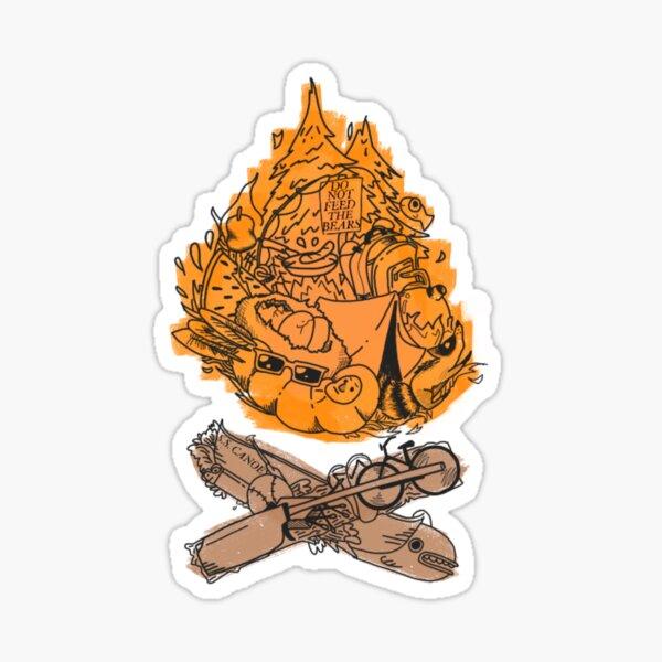 Campfire sight Sticker