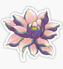 Violet Lotus Pegatina