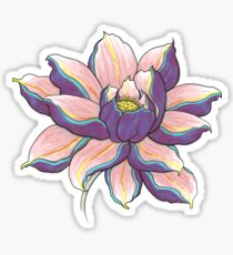 Violet Lotus Sticker