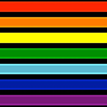 Rainbow Pride Flag by MaskMaster