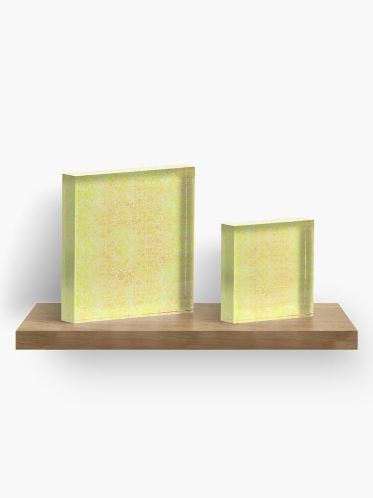 Alternate view of Golden Acrylic Block