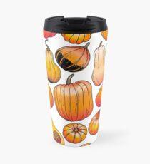 Graphic collection of pumpkins Travel Mug