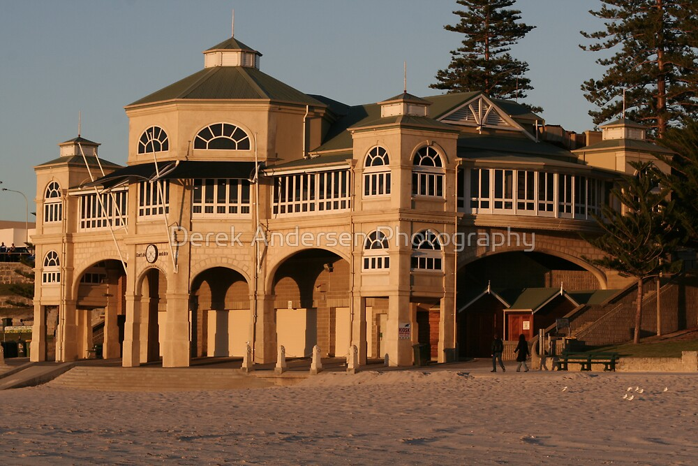 Dream home on the beach, at dusk by Derek Andersen Photography