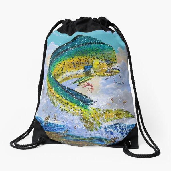 Mahi Hook Up Drawstring Bag