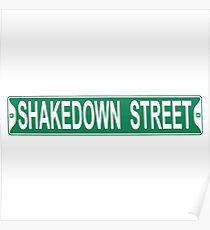 grateful dead shakedown street Poster