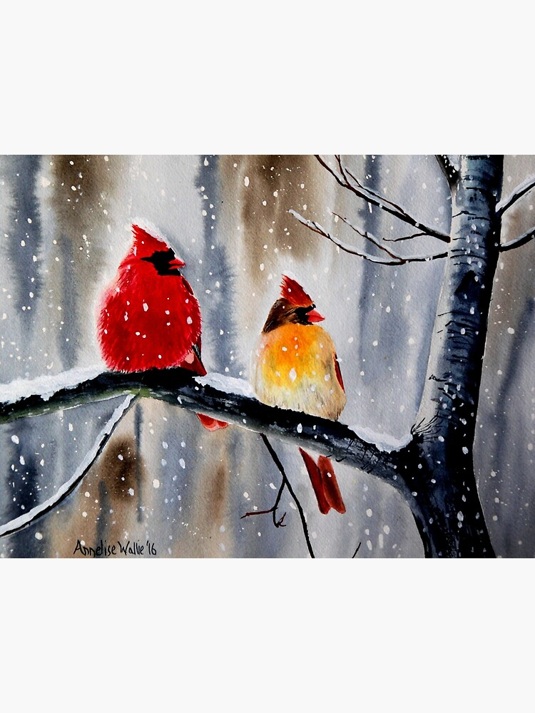Cardinal Pair by julyperson