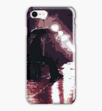 On a Midnight Street iPhone Case/Skin