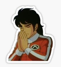 Praying Keith Voltron '84 Sticker