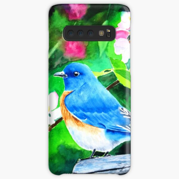 Bluebird in Blossoms Samsung Galaxy Snap Case