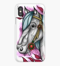 Neotraditional horse  iPhone Case/Skin