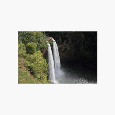 USA Hawaii Kauai Wailua Falls Wasserfall Galeriedruck