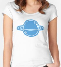 Space Kid Women's Fitted Scoop T-Shirt