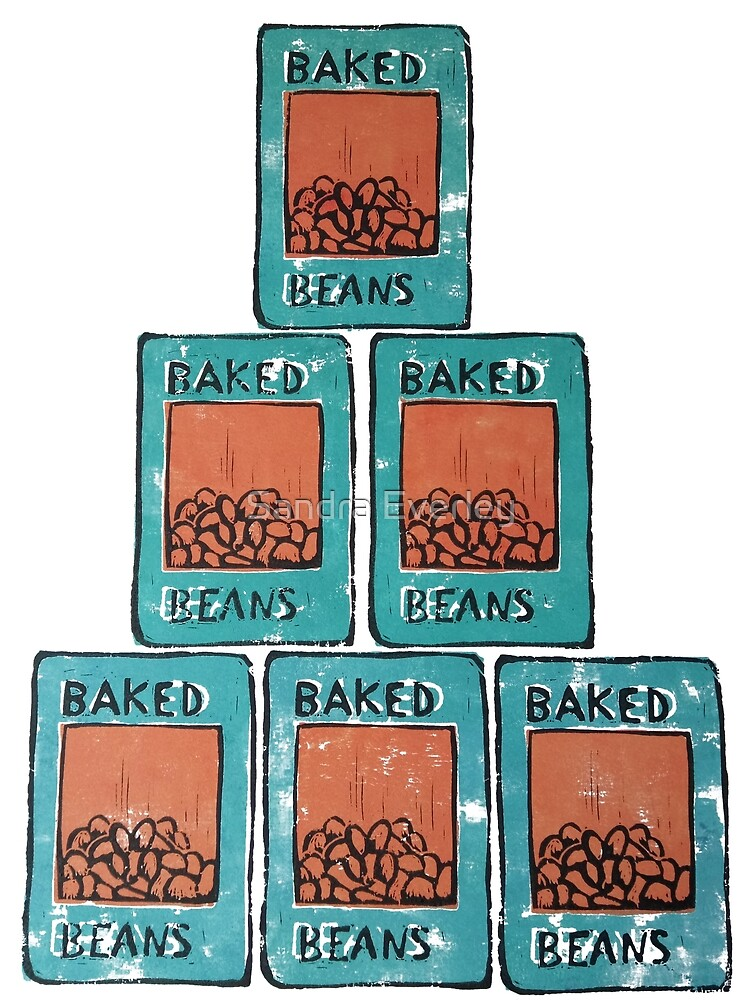 Baked Bean Stack by Sandra Everley