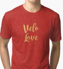 Bike Velo Love Gold | Sports Tri-blend T-Shirt