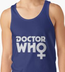 The Doctor is a Woman Tank Top