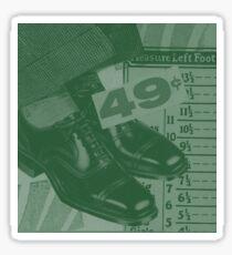 "Original Collage - ""Shoe Sale"" Sticker"