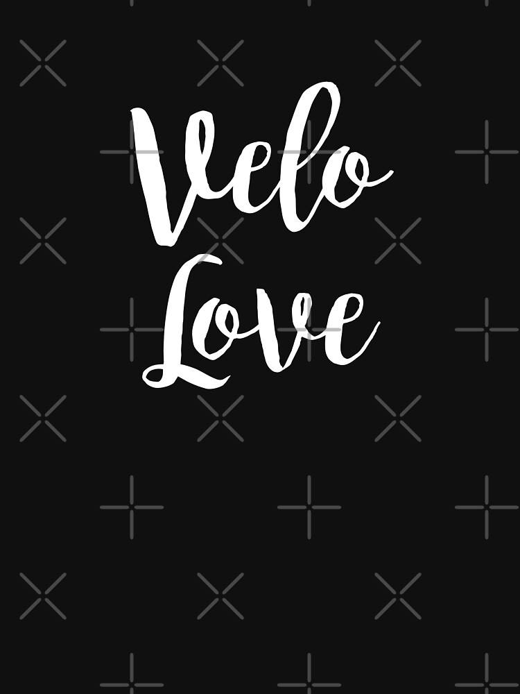 Bike Velo Love Handwritten | Sports by koovox