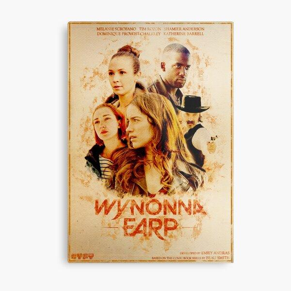 Wynonna Earp - Western Style Cast Poster Metal Print