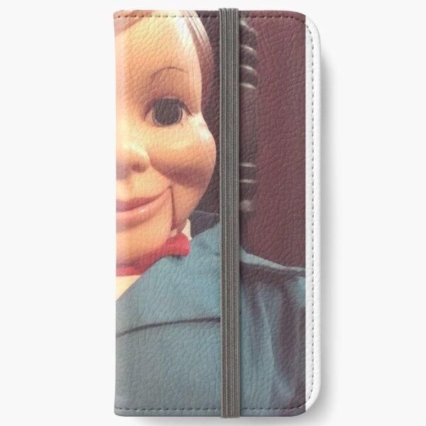 Willie Talk Vintage Ventriloquist iPhone Wallet