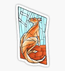 Red Kangaroo and Southern Sky Sticker