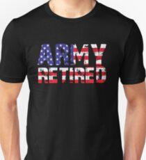 Army Retired T-Shirt Military U.S. Army Retirement Gift T-Shirt