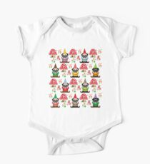 Gnome Pugs One Piece - Short Sleeve