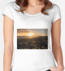 Stoney Sunrise Women's Fitted Scoop T-Shirt