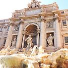 Di Trevi Fountain, Rome by liilliith