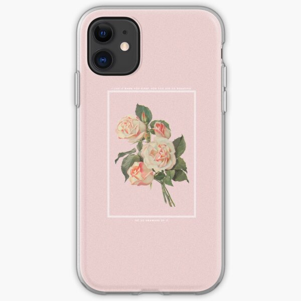 I LIKE IT WHEN YOU SLEEP, FOR YOU ARE SO BEAUTIFUL - YET SO UNAWARE OF IT. iPhone Soft Case