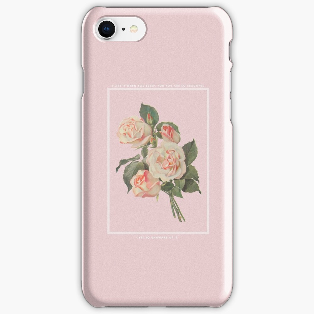 I LIKE IT WHEN YOU SLEEP, FOR YOU ARE SO BEAUTIFUL - YET SO UNAWARE OF IT. iPhone Case & Cover