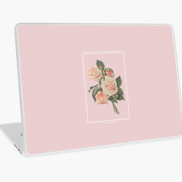 I LIKE IT WHEN YOU SLEEP, FOR YOU ARE SO BEAUTIFUL - YET SO UNAWARE OF IT. Laptop Skin