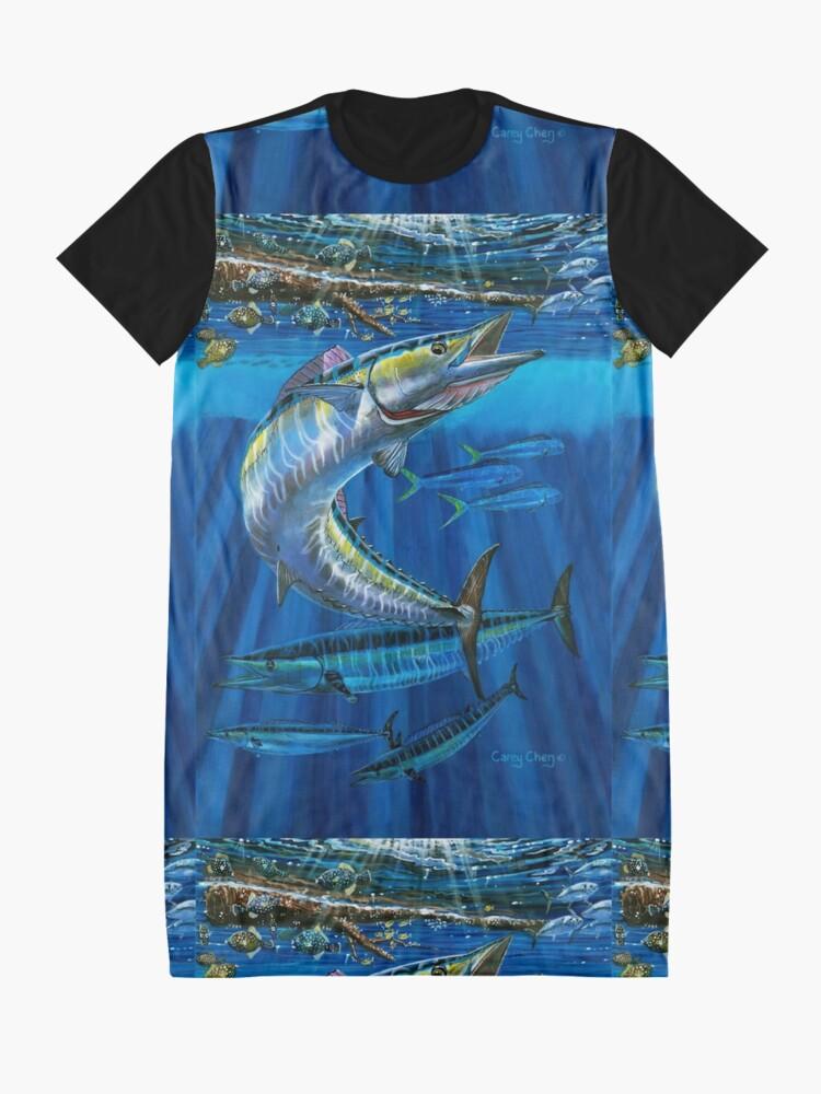 Alternative Ansicht von Wahoo Haven T-Shirt Kleid