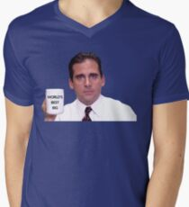 Das Beste der Welt T-Shirt mit V-Ausschnitt