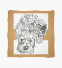 Soft-Coated Wheaten Terrier Father & Son Scarf